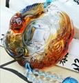 Coloured glaze,lazurite pendants,glass buddha 12