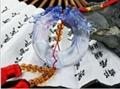 Coloured glaze,lazurite pendants,glass buddha 14