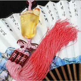 Coloured glaze,lazurite pendants,glass buddha 15