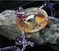 Coloured glaze,lazurite pendants,glass buddha 17