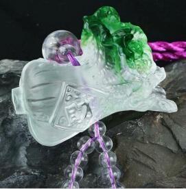 Coloured glaze,lazurite pendants,glass buddha 18