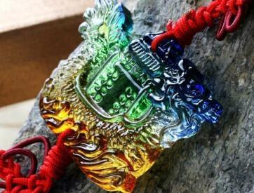 Coloured glaze,lazurite pendants,glass buddha 20