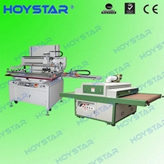 3/4 automatic screen printing machine for stickers