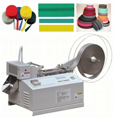 nylon zipper ,belt bags cutting machine X-01H