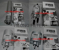 Aluminum filter, Aluminum Fuel Filter WK711/1 WK720 WK519  WK532 WK516/1 WK720/3 WK720/4