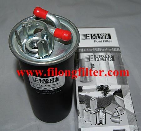 FILONG Manufactory FILONG Automotive Filters 4F0127435 4F0127435A WK735/1 KL454 H206WK P11036 FILONG Filter FF-1037  FOR VW