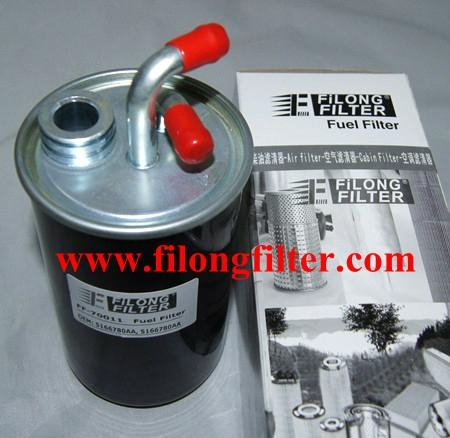 FILONG Manufactory FILONG Automotive Filters 5166780AA    05166780AA  KL775   FN732   S4030NR FILONG Filter  FF-70011