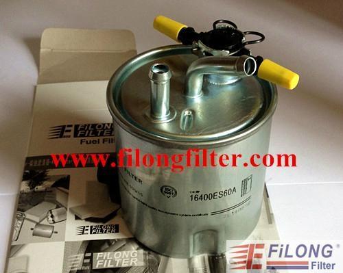 FILONG Manufactory FILONG Automotive Filters FILONG for NISSAN Fuel Filter  FF-9011  16400-ES60A WK939/15 PS10475  H322WK  KL440/3