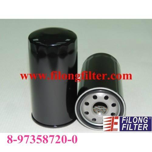 FILONG Manufactory FILONG Automotive Filters FO301 ,8-97358720-0,8973587200