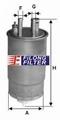 FILONG Manufactory FILONG Automotive Filters FF-2012,813058, WK853/24,KL630
