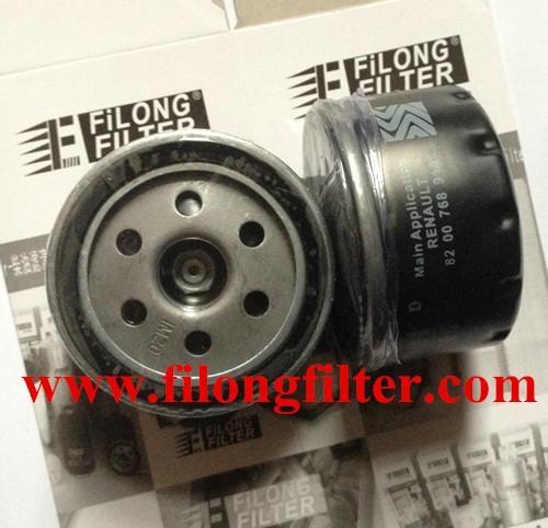 FILONG Manufactory FILONG Automotive Filters 7700274177   7700873603  LS218   PLF873583 FILONG Oil Filter For RENAULT