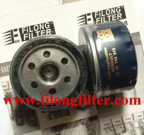 FILONG Manufactory FILONG Automotive Filters 7700274177   7700873603  LS218   PLF873583 FILONG Oil Filter For RENAULT
