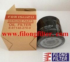 FILONG FOR ISUZU Oil Filter 8-97148270-0  8971482700 8-97148270-0 8971482700 8-97148270-0  8-9714-8270-0  8971482700 8-97148270-0 8971482700