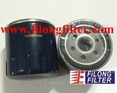 FILONG Oil fitler  152089599R For RENAULT  FO-7006