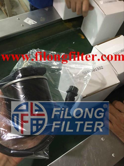 FILONG Manufactory Fuel Filter FF-121,A6510901552 WK820/8,6510901552