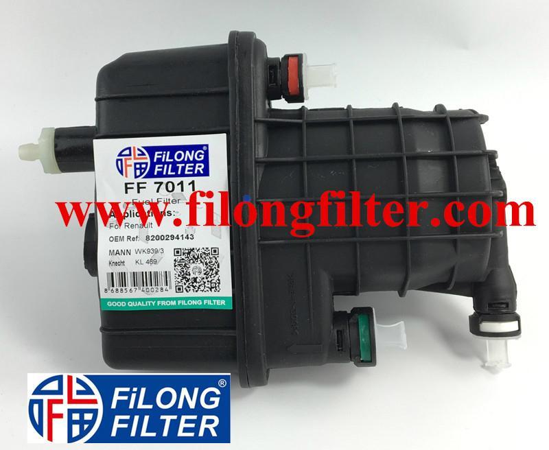 FILONG Fuel Filter WK939/3  8200294143  8200447197   8200926014  FILONG Filter  FF-7011 For RENAULT