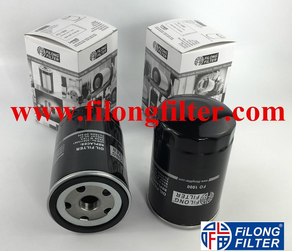 FILONG Oil Filter W719/5 OC47 H14W06 034115561A 056115561A 056115561G 056115561B FO1000 For VW