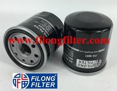 90915-10001 90915-03001 90915-YZZE1  W68/3   FILONG Filter FO8001 FOR TOYOTA