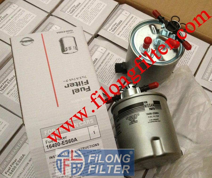 FILONG for NISSAN Fuel Filter  FF-9011  16400-ES60A WK939/15 PS10475  H322WK  KL440/3