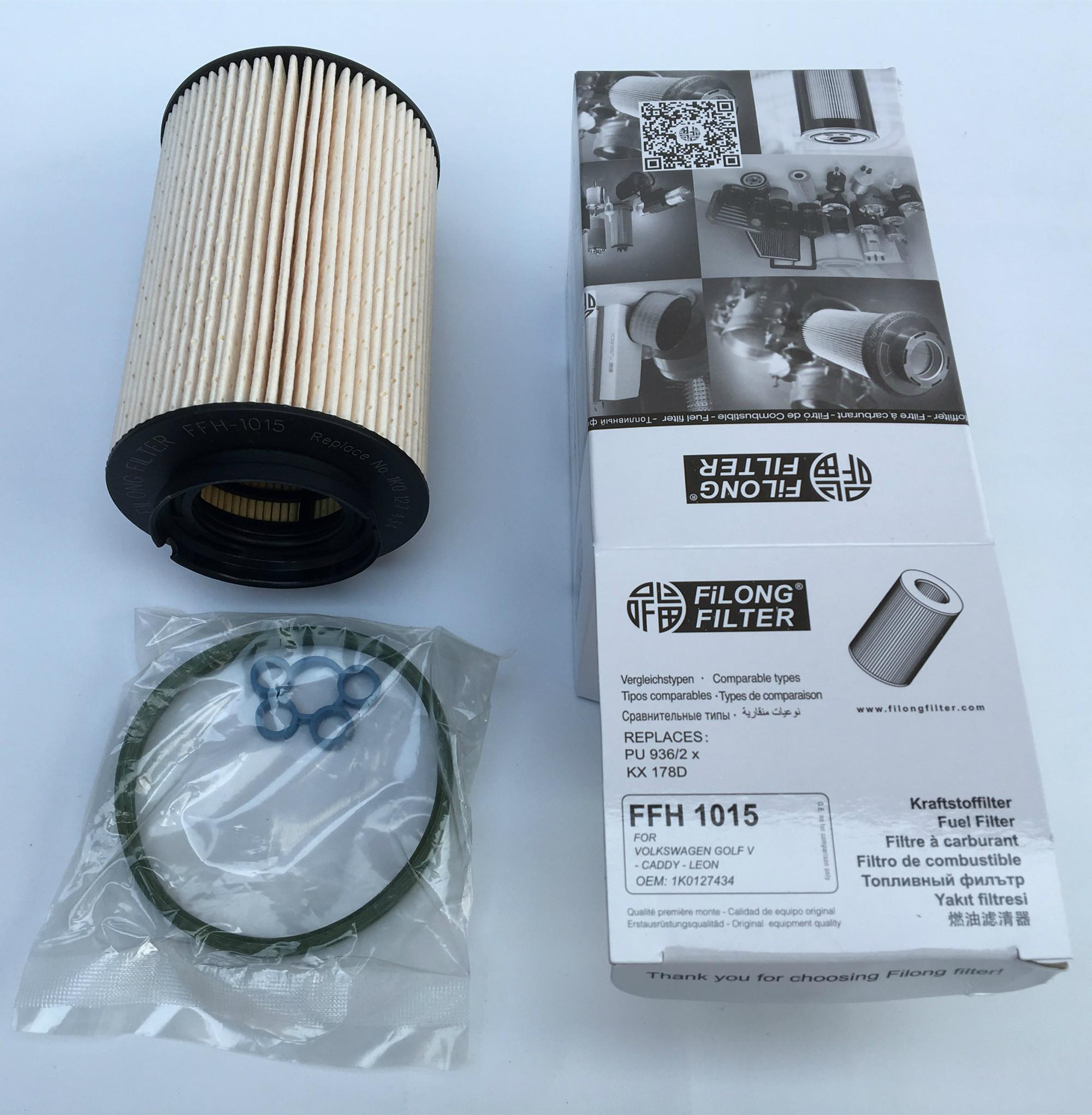 FILONG Automotive Filter  FFH-1015,1K0127434, PU936/2x,KX178D,E72KPD107,	1K0127177, 1K0127177A, 1K0127400C, 1K0127400L, 1K0127434A, 3D0127400C