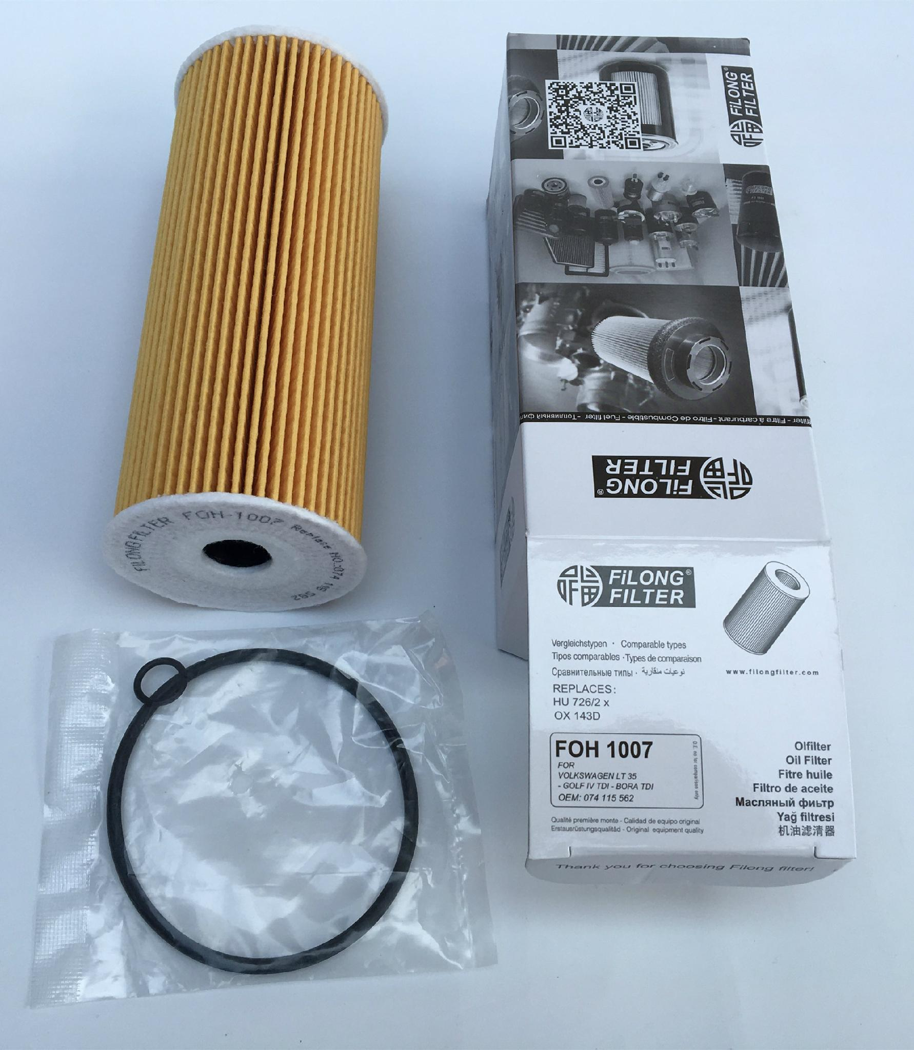 Mahle Filter OX143D Filtro De Aceite