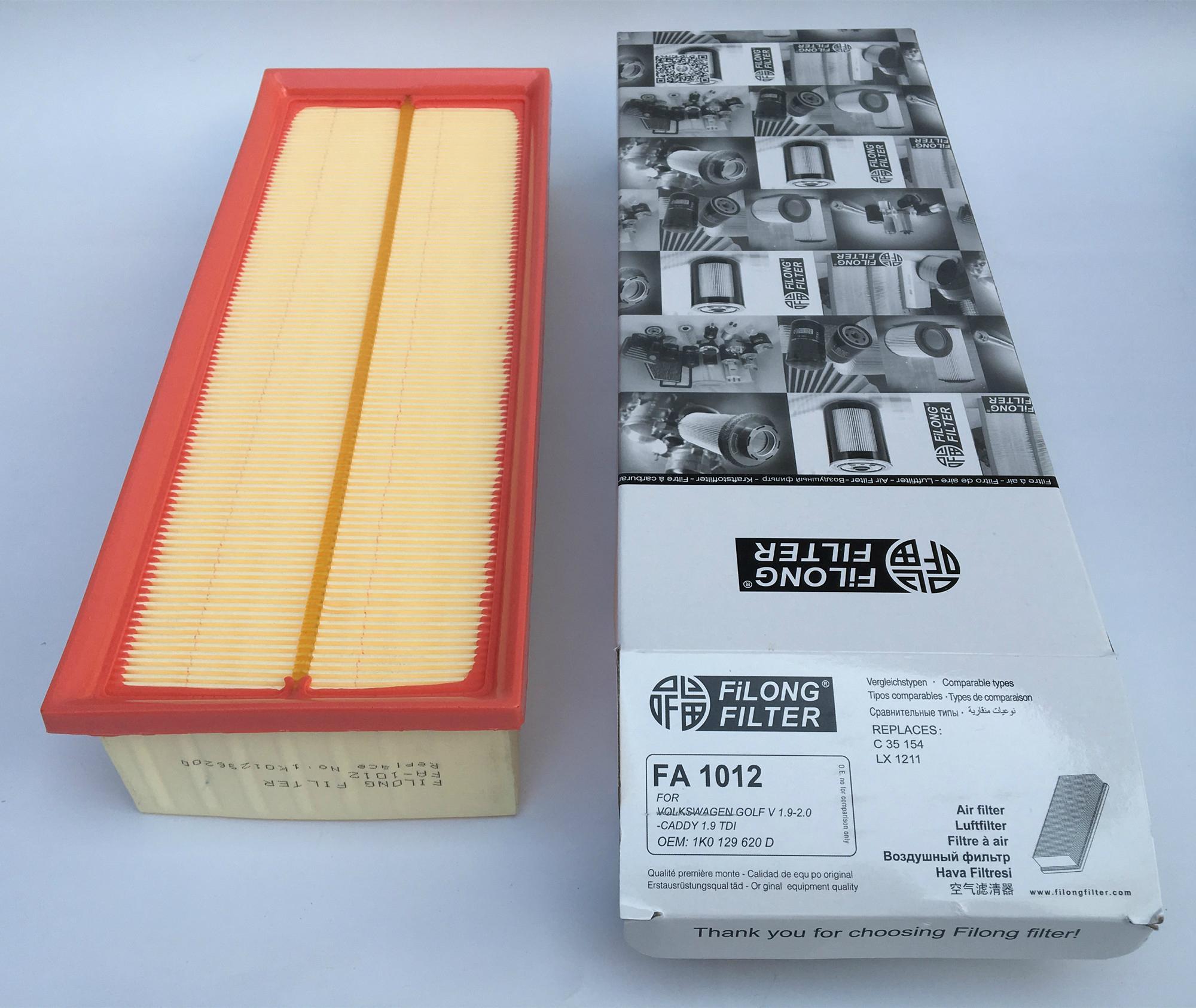 FILONG Automotive Filters   FA-1012,1K0129620F/C, C35154,LX1211 AP139/2