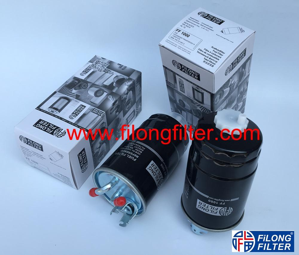 FILONG Automotive Filters 1H0127401C, KL75 ,WK842/4,H70WK05, PS5938 FILONG Filter FF-1000 FOR VOLKSWAGEN