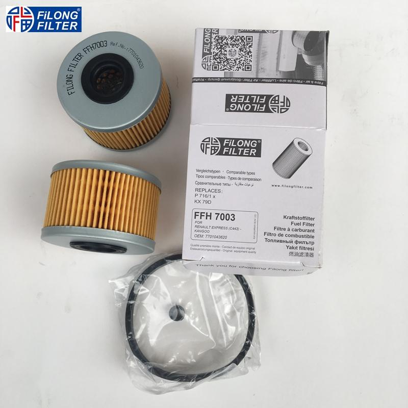 7701043620 190656 1541284CT0 PM815/1  C5940 E64KPD78 P716/1x KX79D C443 ST756 FILONG Filter FFH7003 for Renault and Peugeot