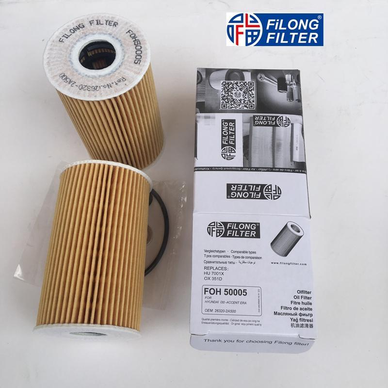 FILONG Manufactory FILONG Automotive Filters FOH-50005,26320-2A500,HU7001x,OX351D