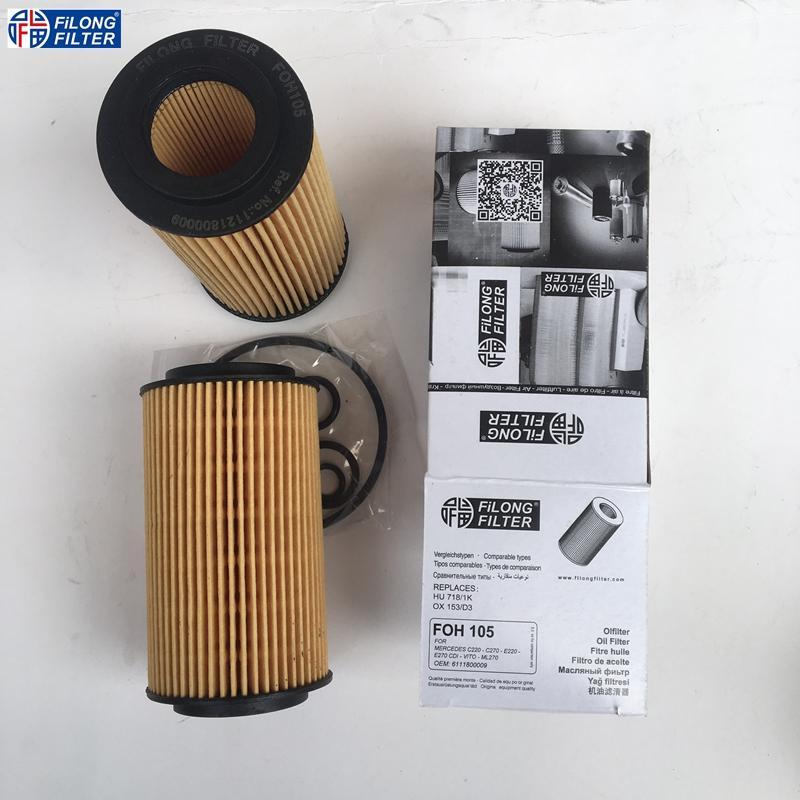 FILONG Manufactory FILONG Automotive Filters FOH-105,1121800009, HU718/1K,OX153/D3