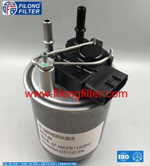 FILONG manufacturer for NISSAN fuel filter  FF-9024,16400-1KB2B 164001KB2B
