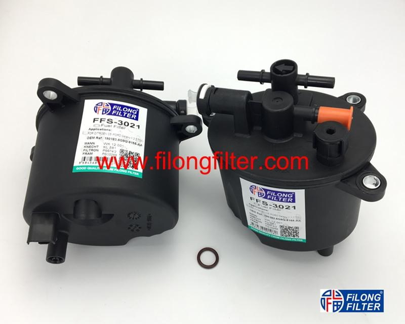 FILONG Manufactory FUEL FILTER  FOR FORD  FFS-3021,6G9Q9155AA, WK12001,KL581,H346WK,190183,9656937180,  1427928,LR001313,  1770A040, 1770A252,190183,PS974/2,PS10288,ST6134
