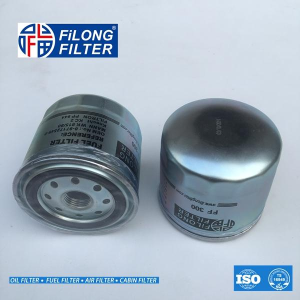 FILONG Manufactory Fuel Filter FF-300 8-97172-549-0 WK815/80 8-97172549-0