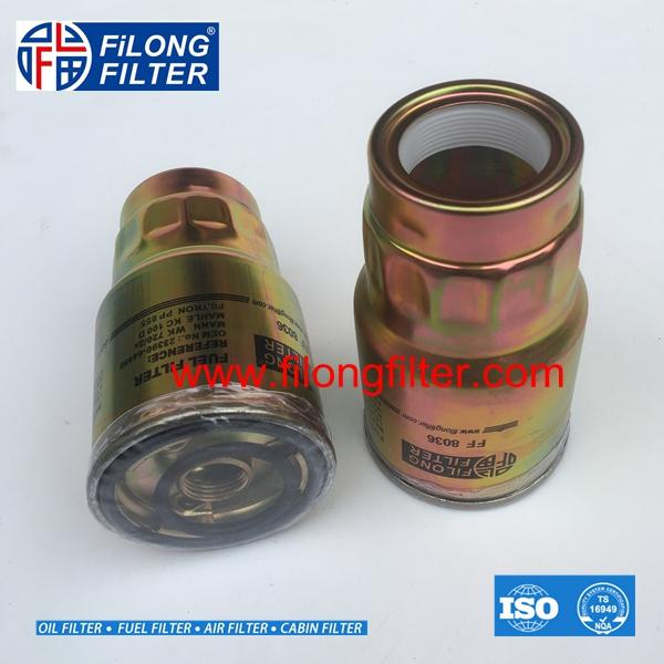 23390-64450  WK720/2X  KC100  H232WK  FILONG Fuel Filter FF8036 FOR TOYOTA