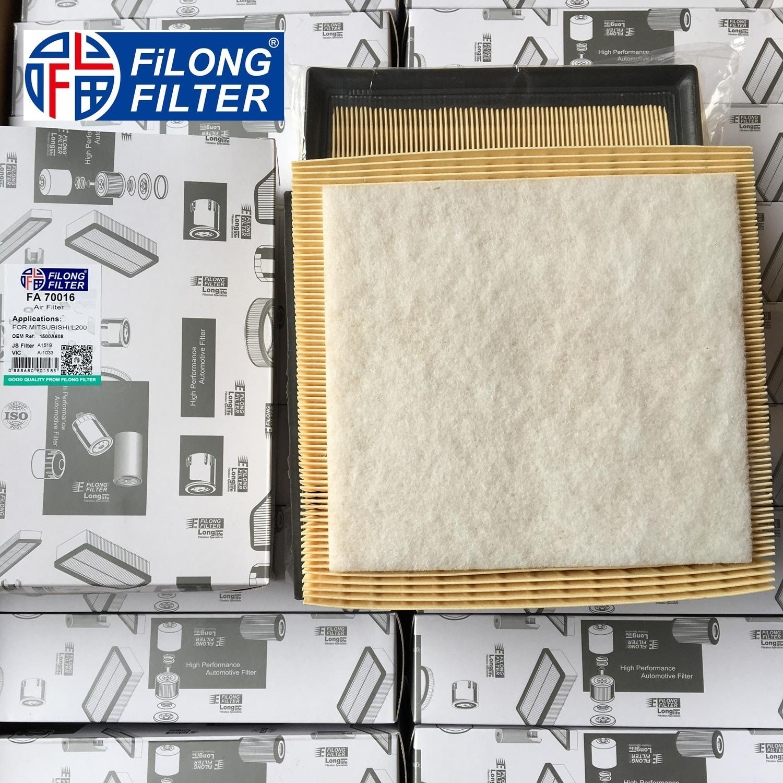 FILONG Manufactory AIR FILTER FA-70016 1500A608 17801-0P050 17801-31130