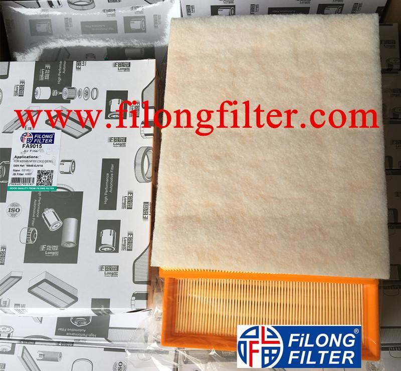 FILONG manufacturer Air Filter FA-9015 16546-4JM1A 165464JM1A 16546-4JM1C 165464JM1C  C21001 16546-4KV0A  165464KV0A for NISSAN Navara NP300