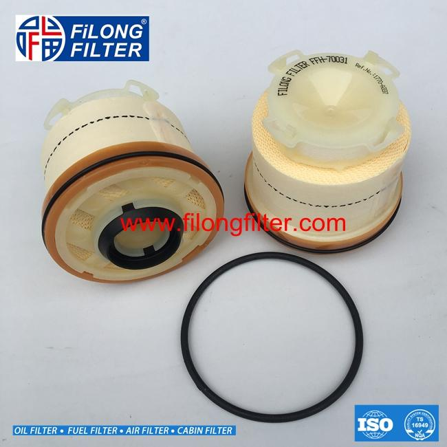 FILONG Manufactory FUEL FILTER  FFH-70031 23390-0L050 1770A337 1770A338