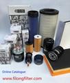 FILONG  manufacturer Fuel Filter  for ISUZU FOH-324 1-87810075-1 15607-1040 1-13240109-0 15607-1090 15607-1220 15607-1400 15607-1520 1-13240109-1