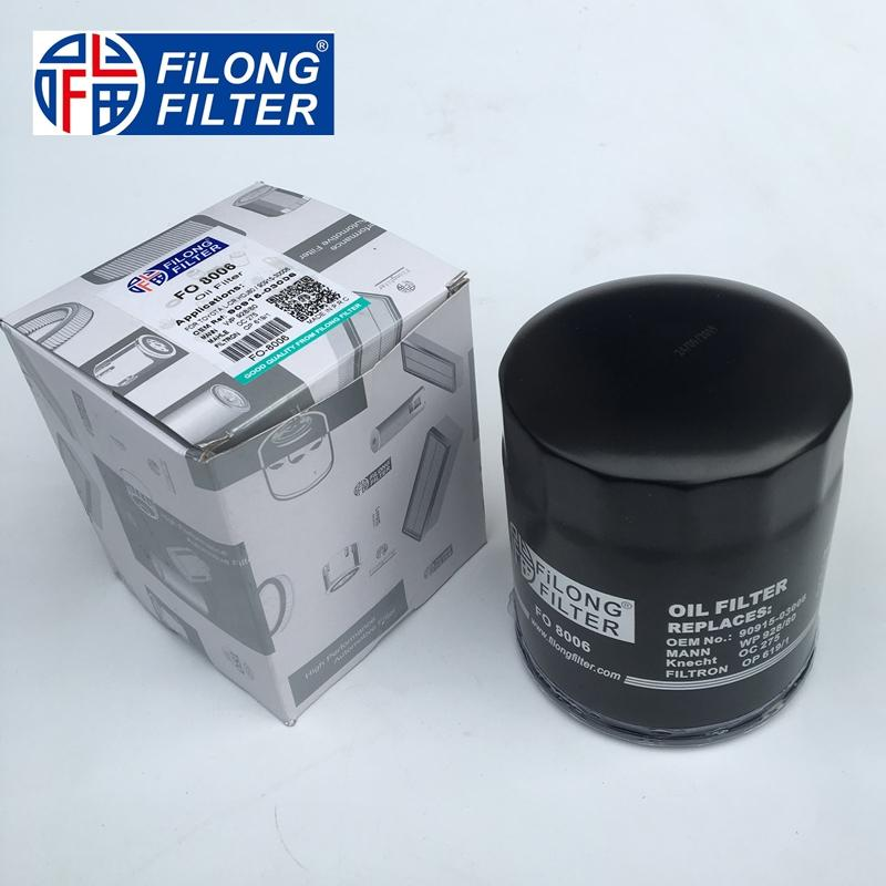 FILONG Manufactory Oili Filter for FO-8006 90915-03006  90915-30002  9091503006 WL5114302, WL9114302, WLY014302 WLY214302 0415203006, 9091503006 9091530002 90915300028T