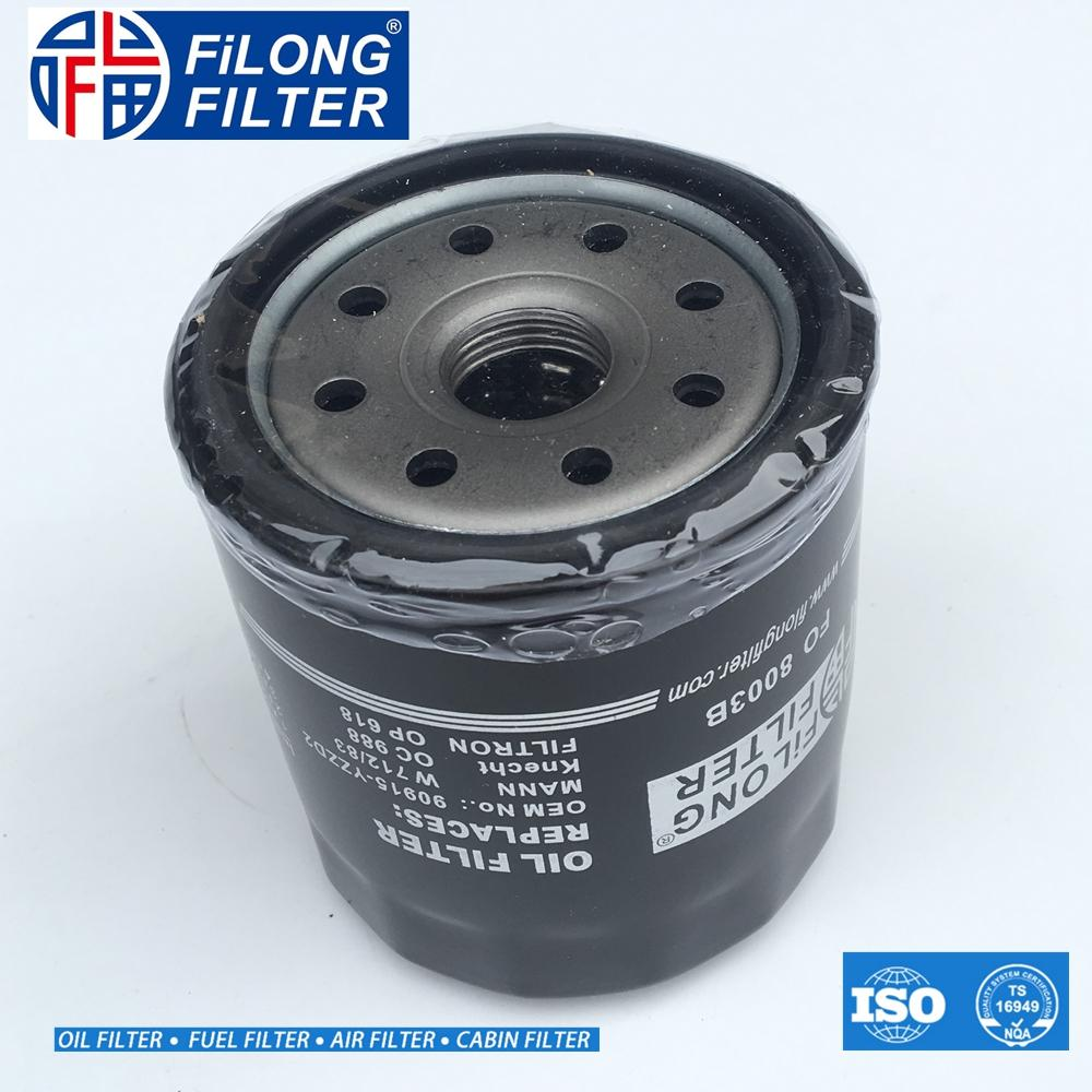 FILONG Manufactory Oil Filter FO-8003 90915-YZZD2  90915YZZD2