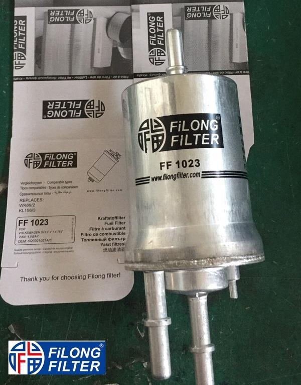 FILONG Fuel Filter  FF-1023 WK69/2 KL156/3 6Q0201051A/C(4.0bar, PP836/4 H155WK
