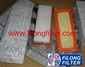 FILONG Manufactory FILONG Air Filter  C2771  LX824 CA5941 7701044101 ELP3726 FILONG Filter FA-7008