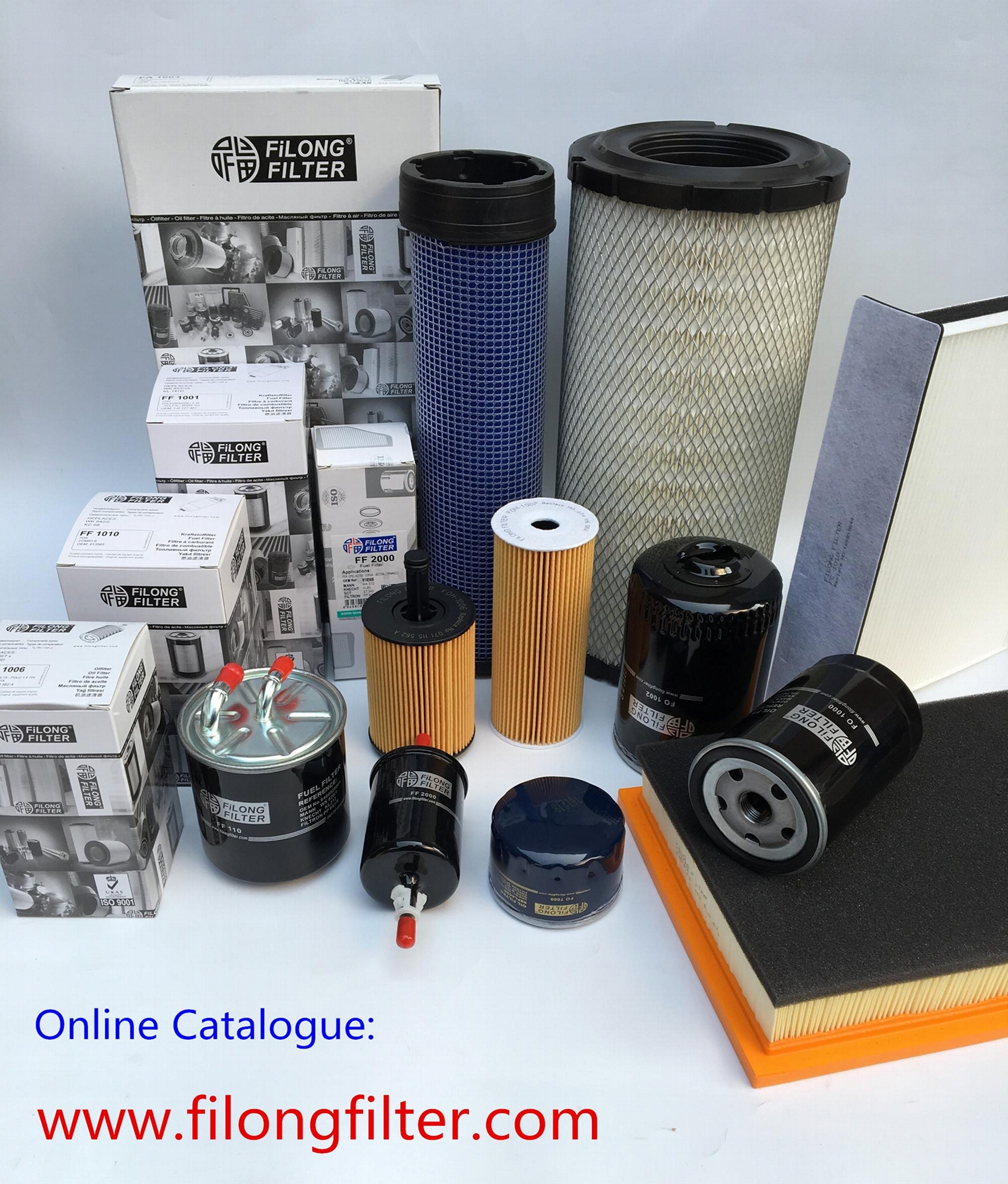 FILONG manufacturer high quality Hot Selling Fuel filter FFH-9021 11811-NY025 21535312 8-97385919-0 ME354459 S1222-EV040