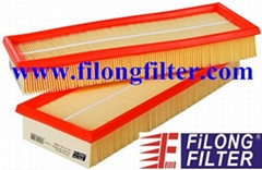 FILONG Manufactory For MERCEDES-BENZ Air Filter FA-105 1120940004 C3698/2 LX804 1120940604 2730940204 2730940404  A1120940004 A1120940604 A2730940204 AP118/3 E455L01 	CA8768-2