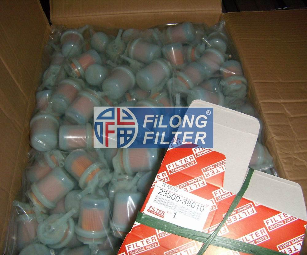 FILONG Manufactory  For TOYOTA Feul filter 23300-38010 23300-34100 2300-75090 ,23300-75020