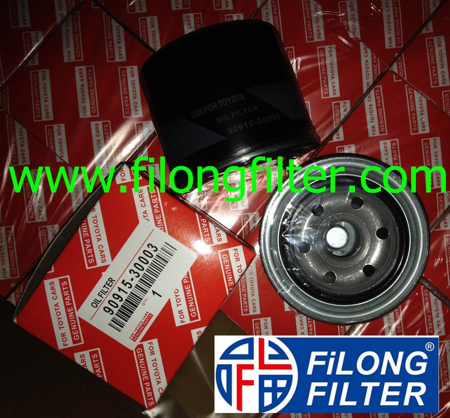FILONG Manufactory For TOYOTA Oil filter  90915-30003 90915-30001 90915-03003