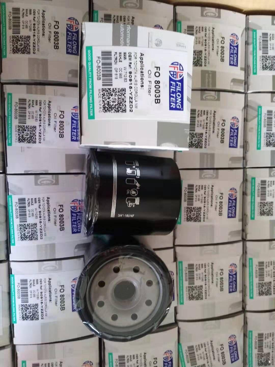 FILONG Manufactory For TOYOTA Oil filter 90915-YZZD2 90915-TB001 90915-20001   2