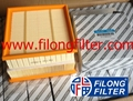 FILONG Manufactory For FIAT Air filter 	51796537, 51830174, 51925537, 55184249, 71773172 68098250AA  13442297, 13452141, 834848, 834849, 93188723, 93188725 5834043, 5835127, 5835930, 834656, 93192362  95513087 AP072/1 CA10211  E832L SB2243  A1223 S3297A