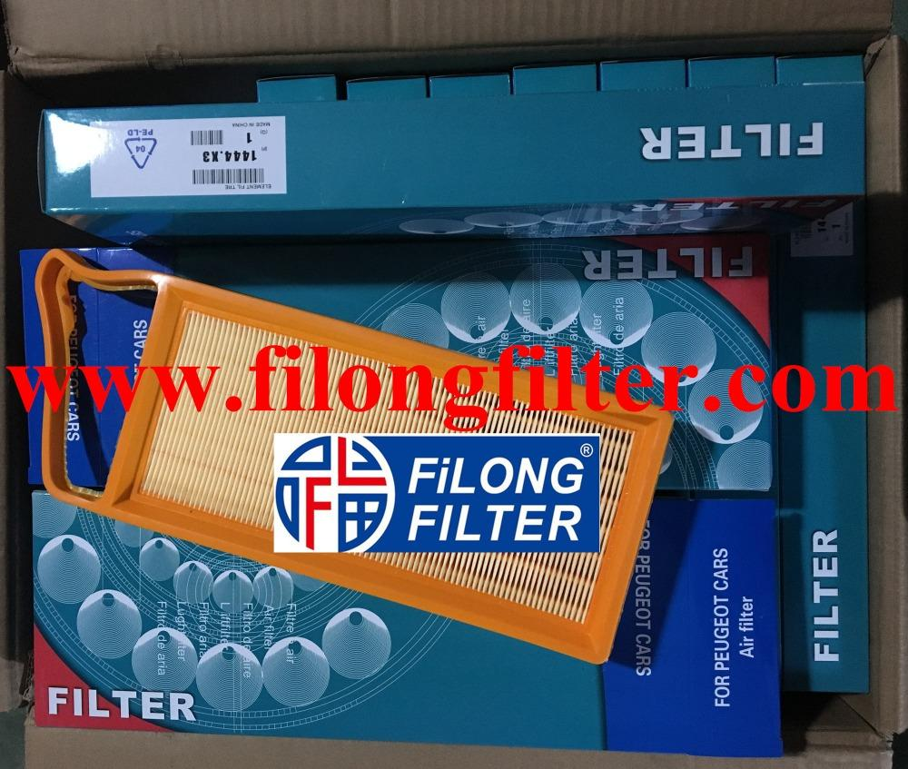 FILONG Manufactory For PEUGEOT Air filter  1444VZ, 1444W9, 1444X3, 9642212080  1147681, 1672497, 1735085, 2S6Q9601A1A, 2S6Q9601AA  Y40113Z40, Y40113Z40A 1444VZ, 1444W9, 9642212080 SU00100653, SU00100878, SU00100901