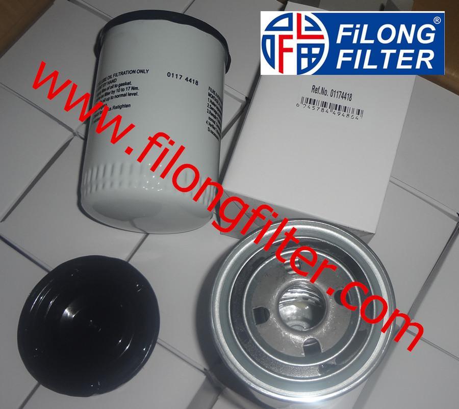 FILONG Manufactory Supplier For DEUTZ Oil filter 01174418